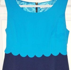 FINAL PRICE!! Navy & Teal blue dress